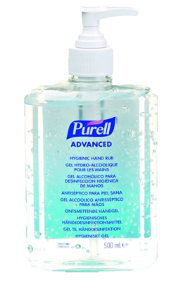 Gel hydroalcoolique en 500 ml